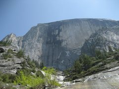 Rock Climbing Photo: Half Dome view from approach