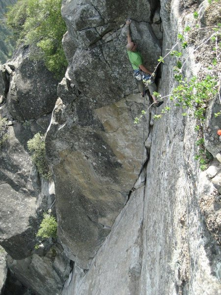 Rock Climbing Photo: fun easy climb