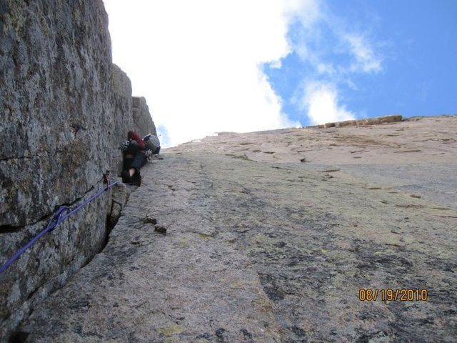 Leading the first part of the classic 5.8 corner, the Casual Route.