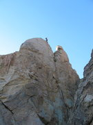 Top of Doc Holiday Wall (Unforgiven 5.11b)