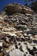 Rock Climbing Photo: Church Dome Crystals
