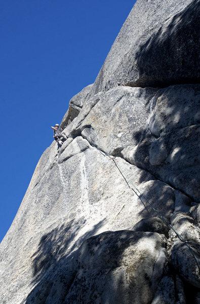 Rock Climbing Photo: Claire Rasmussen cruising...