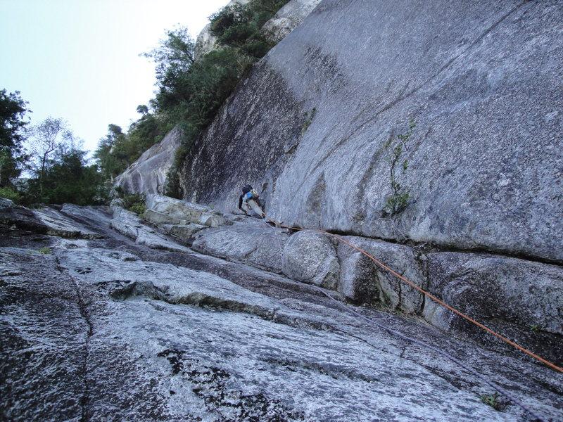 Rock Climbing Photo: second pitch?
