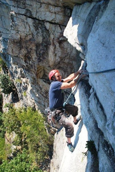 Rock Climbing Photo: A different view of CCK...not nearly as exciting a...