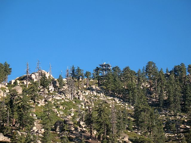 Looking towards the summit, Keller Peak