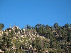 Rock Climbing Photo: Looking towards the summit, Keller Peak
