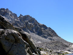 Rock Climbing Photo: one of the possible options on the W ridge of 13,3...