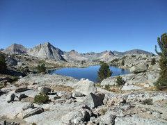 Rock Climbing Photo: Lake 11,160 on the Darwin Benches