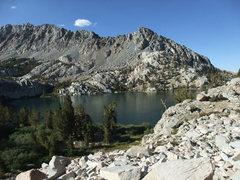Rock Climbing Photo: Lower Lamark Lake