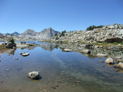 Rock Climbing Photo: another alpine pool on the benches