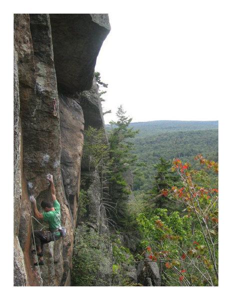 Rock Climbing Photo: Push-5.12C