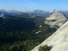 Rock Climbing Photo: beautiful view before you start the horizontal cra...