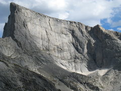 Rock Climbing Photo: The NW Face of East Temple Peak.