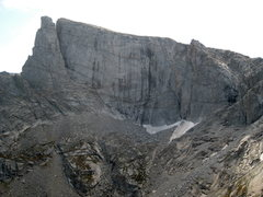 Rock Climbing Photo: Lost Temple Spire is the detached spire on the lef...
