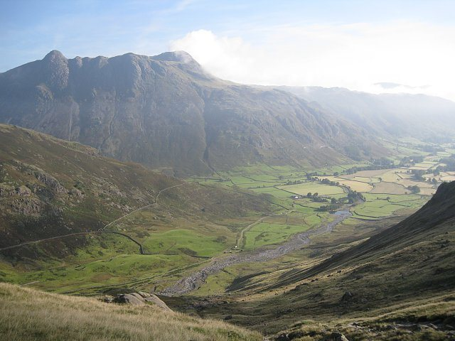 Langdale Valley and the Pikes