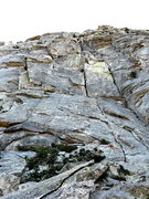 Rock Climbing Photo: looking up @ the Consolation (furthest left blocky...