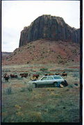 Rock Climbing Photo: We use to camp in Fringe of Life canyon. We were t...