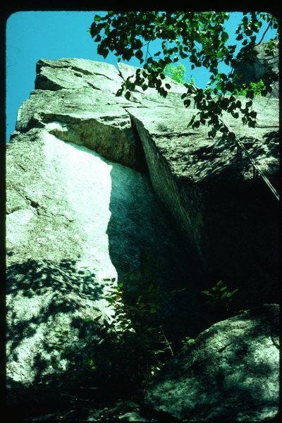 Rock Climbing Photo: Jack be nimble