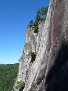 Rock Climbing Photo: The upper 2/3 of the H.C. buttress.