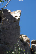 Beautiful arete climbing