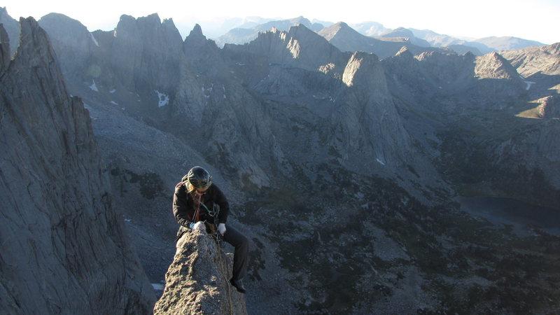 Rock Climbing Photo: feathercrest