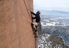 Rock Climbing Photo: Good views.