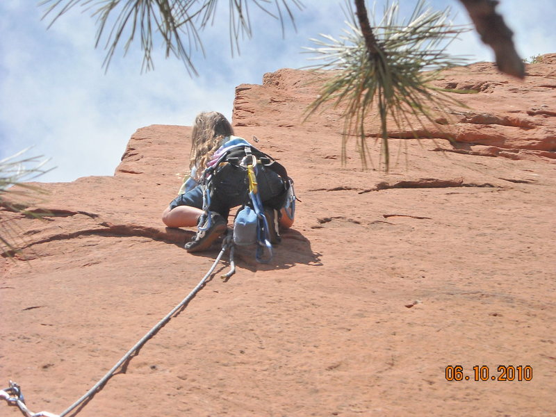 Rock Climbing Photo: clumsy but good