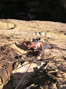Rock Climbing Photo: James Tortelli on pitch 3 or 4