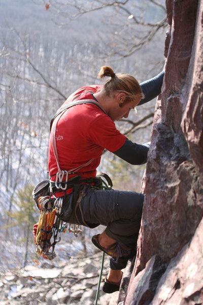 Rock Climbing Photo: Steve Dew on Cheatah