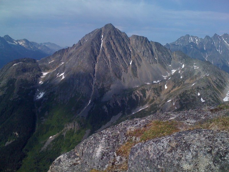 Rock Climbing Photo: Dewey Peak near Skagway