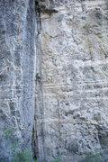 Rock Climbing Photo: S. Davis enjoys Peaceful Warrior (10d). photo by S...