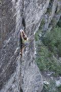 Rock Climbing Photo: Funny, I swear that hold felt like a jug when I wa...