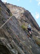 Rock Climbing Photo: Climbing around vegetation on the adventure part o...