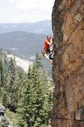 Rock Climbing Photo: Climbing on the Talon. photo by S. Giffin