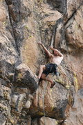 Rock Climbing Photo: T. Chrudinsky on a great 11b at High Eagle Dome. p...