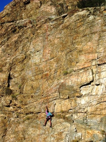 Rock Climbing Photo: Stan is choosing to rage...