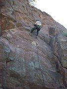 Rock Climbing Photo: Gettin the feel of it...