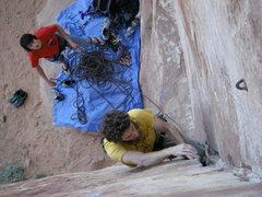 Rock Climbing Photo: Joe Simon on Top 40