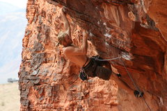 Rock Climbing Photo: Steve Dew crushing Sweet Pain