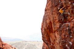 Rock Climbing Photo: Joe Simon on Glitter Gulch