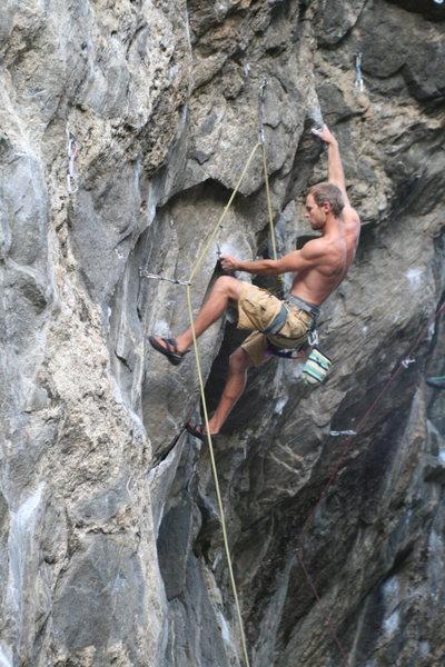 Rock Climbing Photo: Sucking My Will to Live.