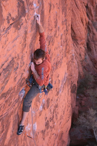 James Tortelli coming into the crux of Nirvana