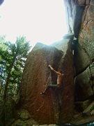 Rock Climbing Photo: sun up to sun down