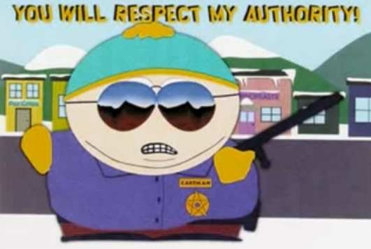 Respect my Authoritah!