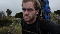 Rock Climbing Photo: On Mt. Kenya