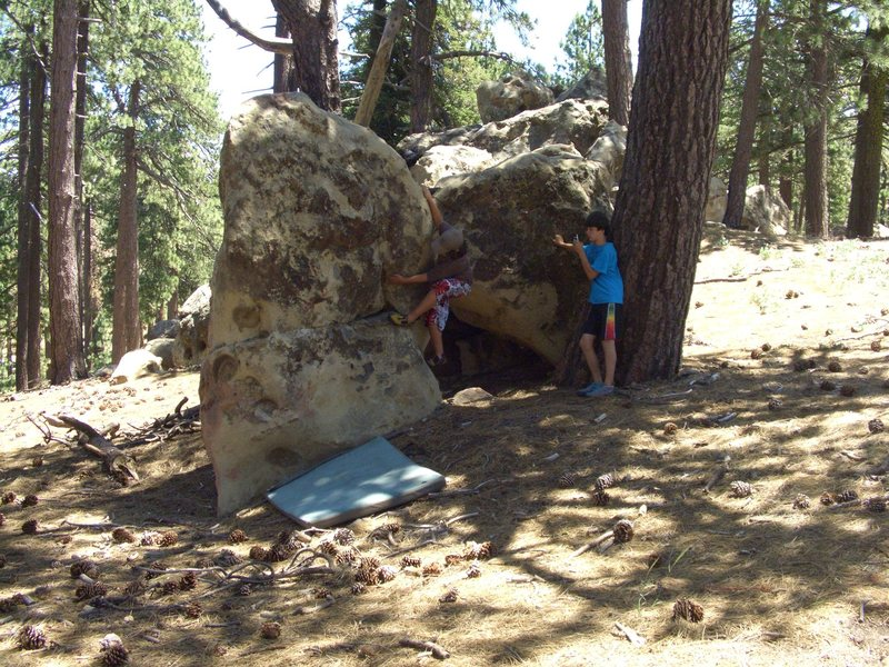 Carlo Rivas on Look Mom, I Lost Another Tooth V0, Picnic Area, Pime Mtn.