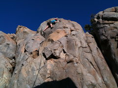 Rock Climbing Photo: Lindsey Cullins leading Sam I am