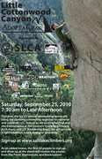 Rock Climbing Photo: Salt Lake Climbers Alliance Little Cottonwood Cany...