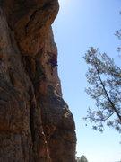 Rock Climbing Photo: Buster Jesik on Fast Food Nation.