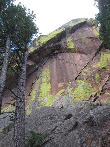 Rock Climbing Photo: Where's me?
